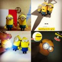 Miniatur, Minion, Ganci, Nyala, Gerak, Musik I Love You , minion 2015