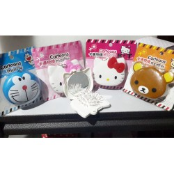 Sisir + cermin model hello kitty, rilakuma, doraemon