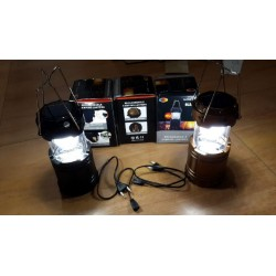Lampu lentera kemping Emergency light powerbank langsung nyala