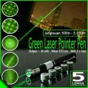Green laser pointer pointer 5 mata, Green laser pointer jarak jauh