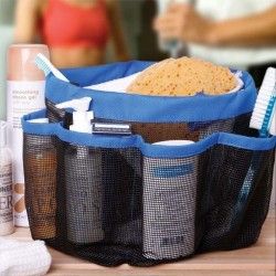 Shower Caddy 8 Pocket Toilet Organizer penata perapi alat mandi