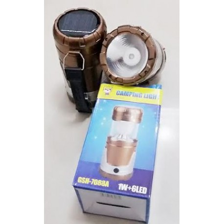 Senter powerbank lampu kemping Emergency lamp solar lampu lentera