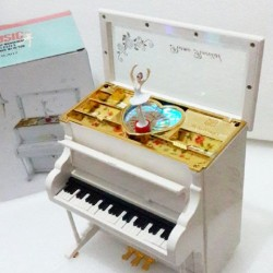 Kotak musik organ piano high luxury class