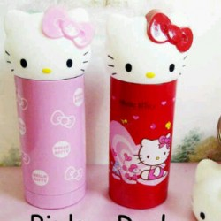 Thermos Hello Kitty Sanrio Stainless Steel Pink, Red,hk