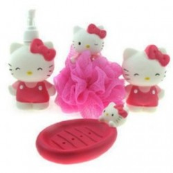 Bathroom set, Perlengkapan Mandi Hello kitty