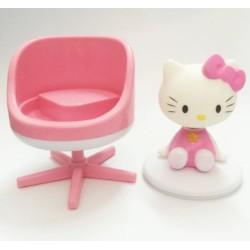 Kotak musik grand piano dengan 6 lagu dan balerina besar
